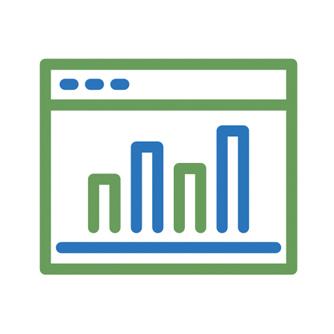 Performance Chart Icon