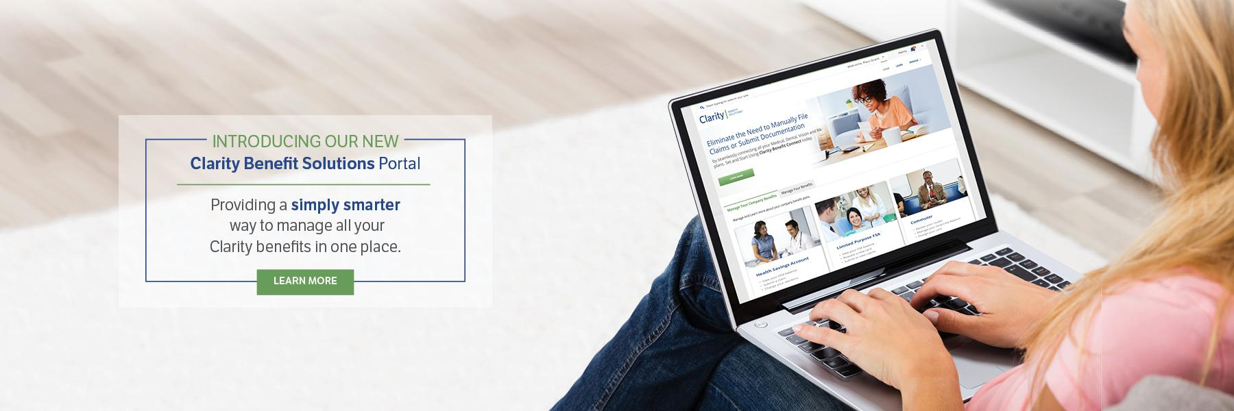 Introducing Our New Clarity Benefit Portal