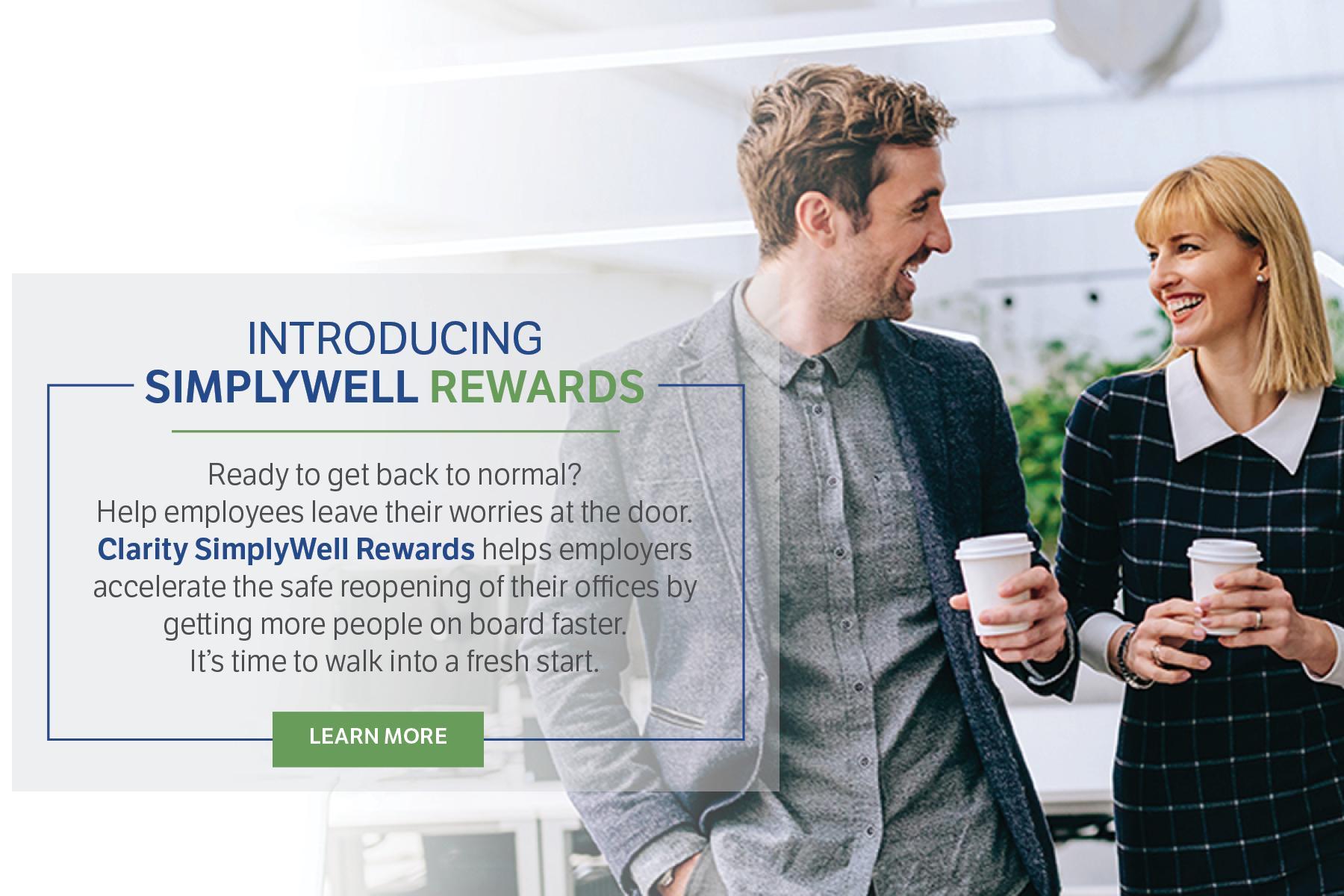 Clarity SimplyWell Rewards